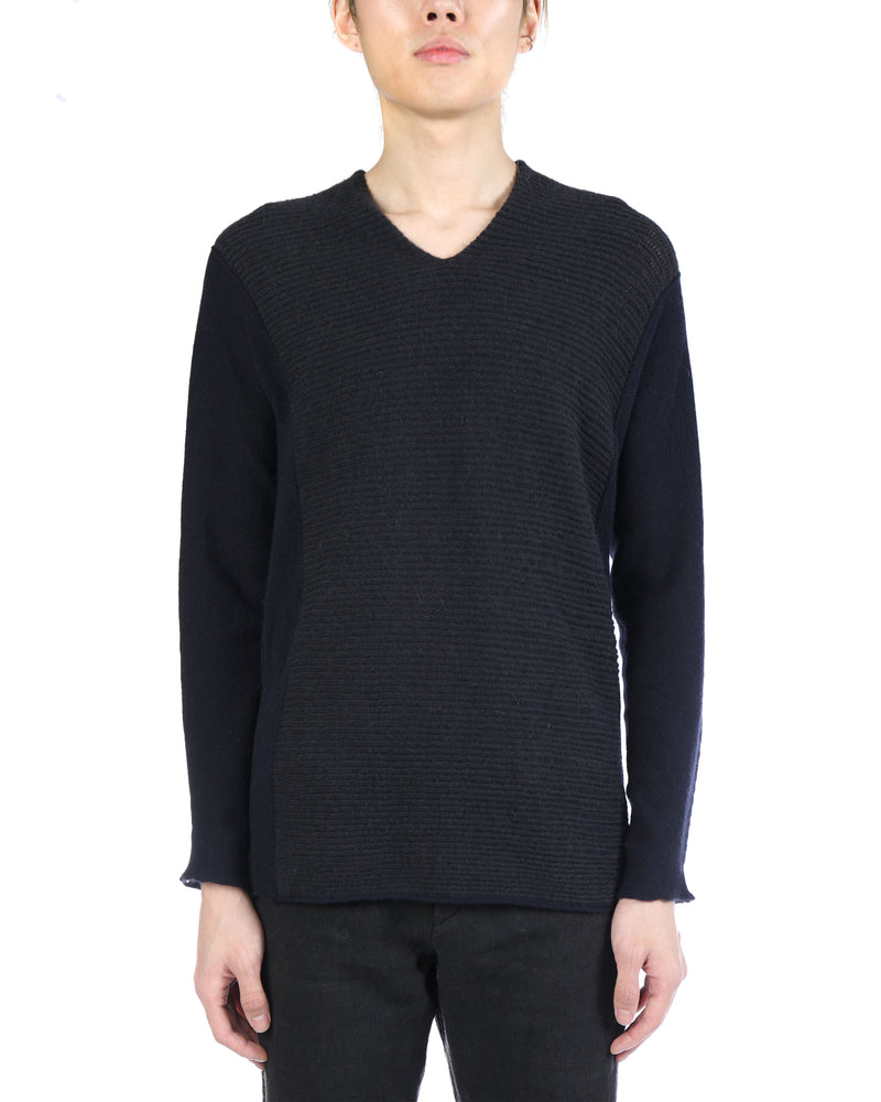 LABEL UNDER CONSTRUCTION MEN ARCHED LANDSLIDE SWEATER