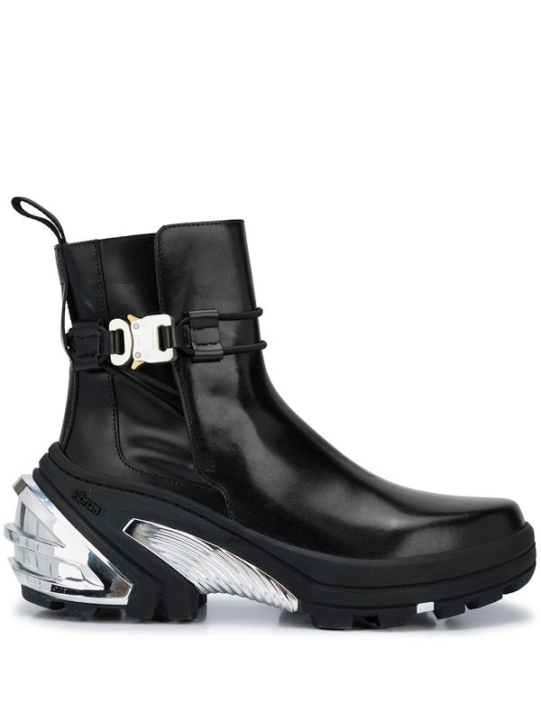 1017 ALYX 9SM MEN LOW BUCKLE BOOT WITH FIXED SOLE
