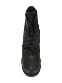 GUIDI MEN 795Z CORDOVAN LEATHER LACED UP BOOT