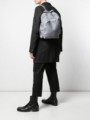 GUIDI SOFT HORSE LEATHER SMALL 2 ZIP BACKPACK
