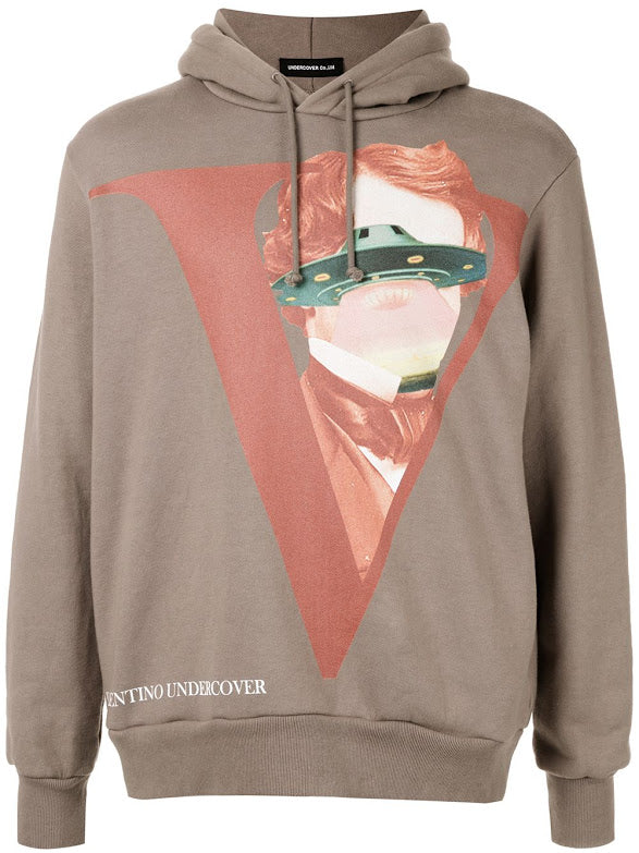 UNDERCOVER X VALENTINO MEN PRINTED HOODIE