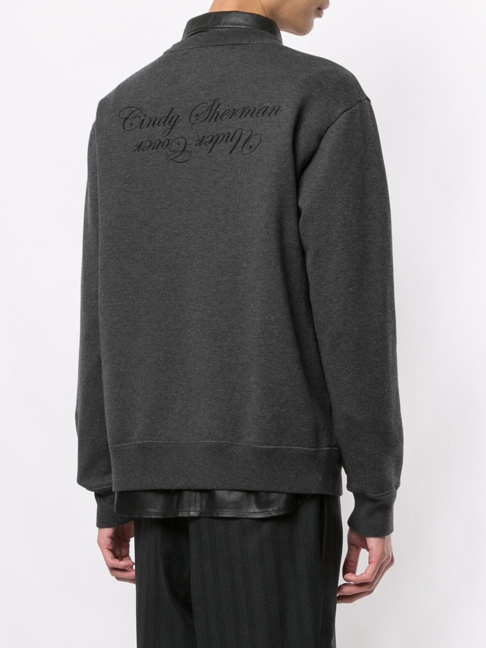 UNDERCOVER MEN CINDY SHERMAN SMOKING PULLOVER