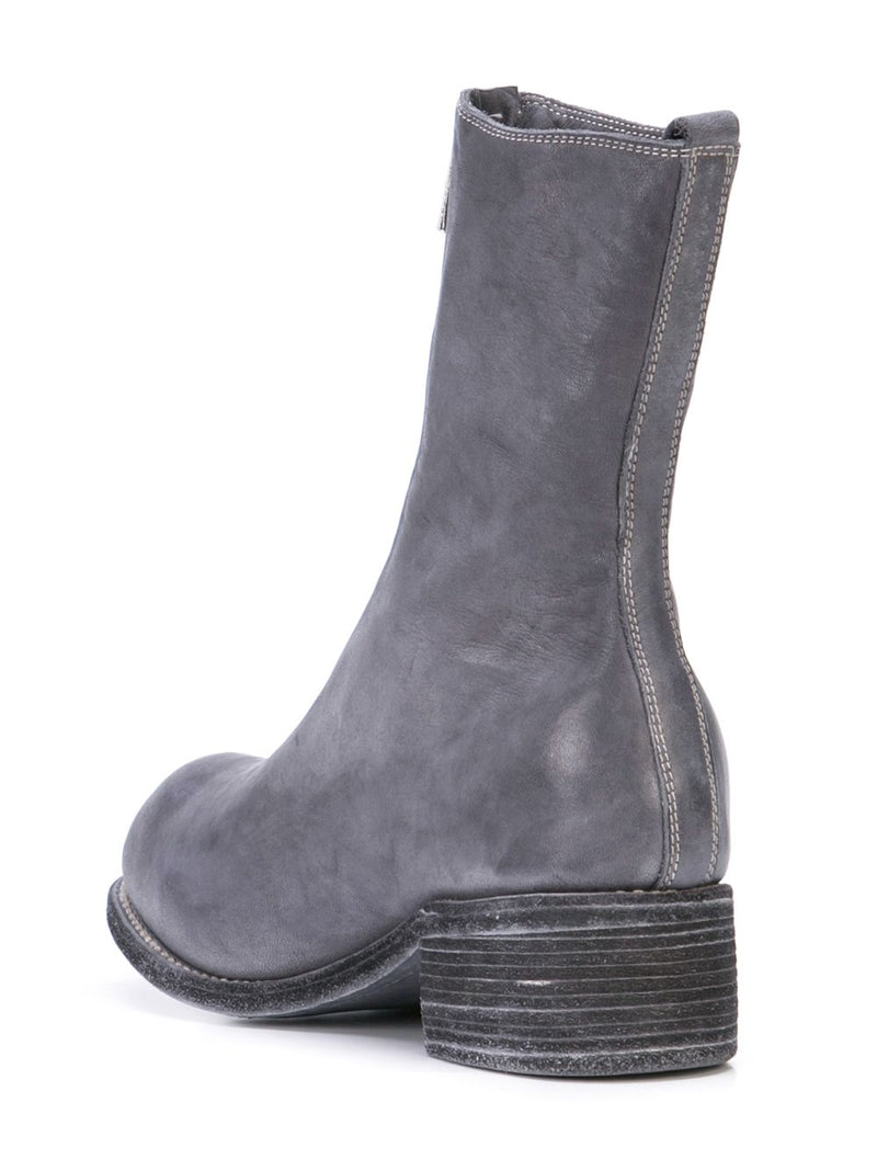 GUIDI WOMEN PL2 SOFT HORSE LEATHER FRONT ZIP BOOTS
