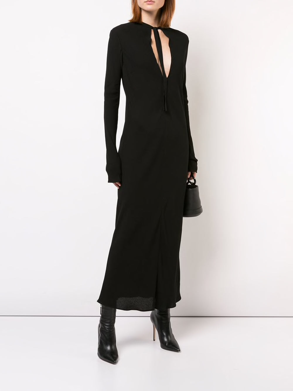 HAIDER ACKERMANN WOMEN MIDI LONG DRESS 184-2212-108-099