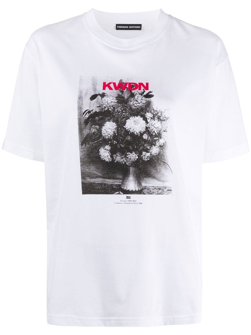 KWAIDAN EDITIONS WOMEN ZOLA PRINT SHORT SLEEVE T-SHIRT