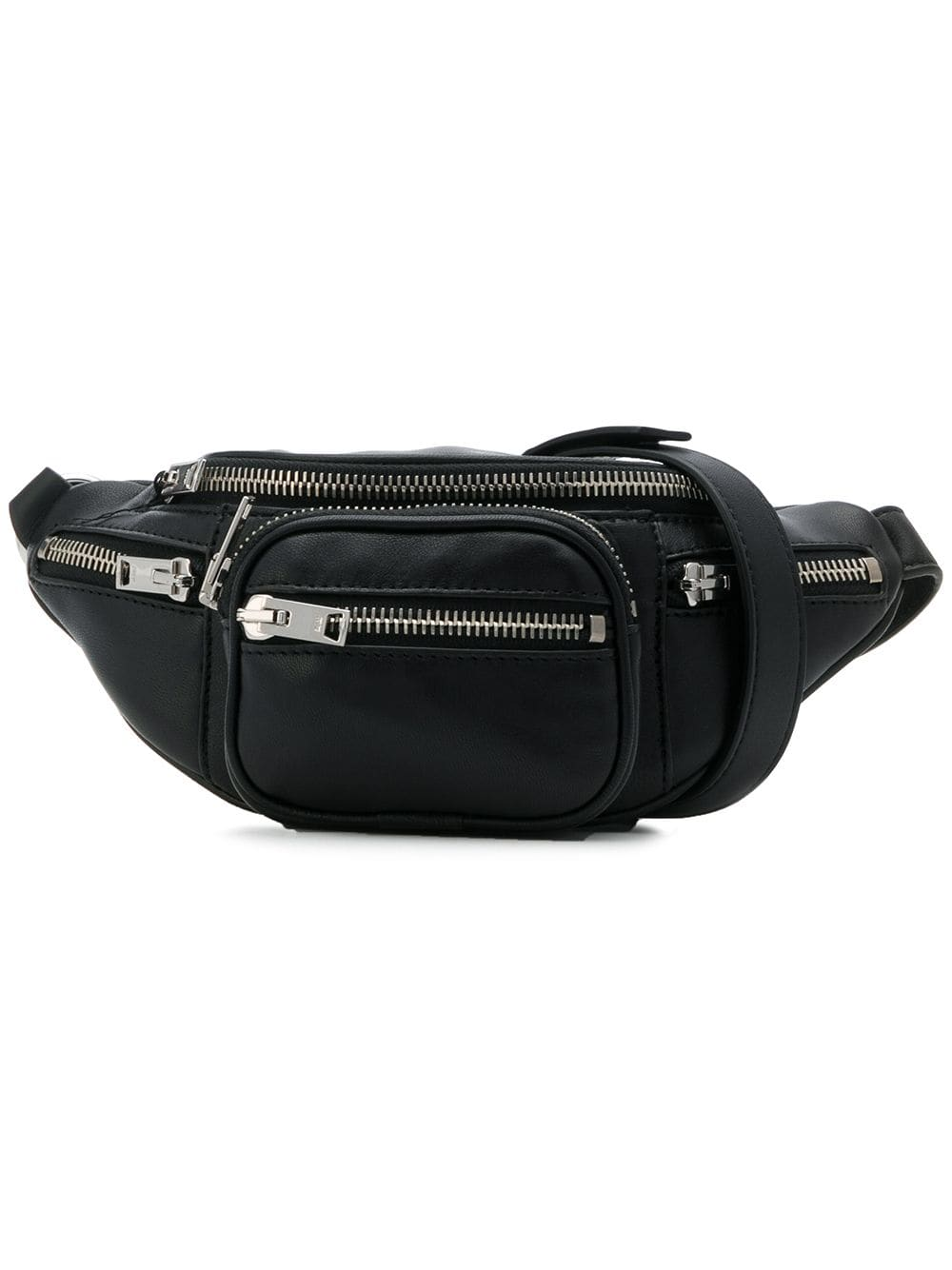 ALEXANDER WANG ATTICA MINI FANNY PACK WITH METAL CHAIN