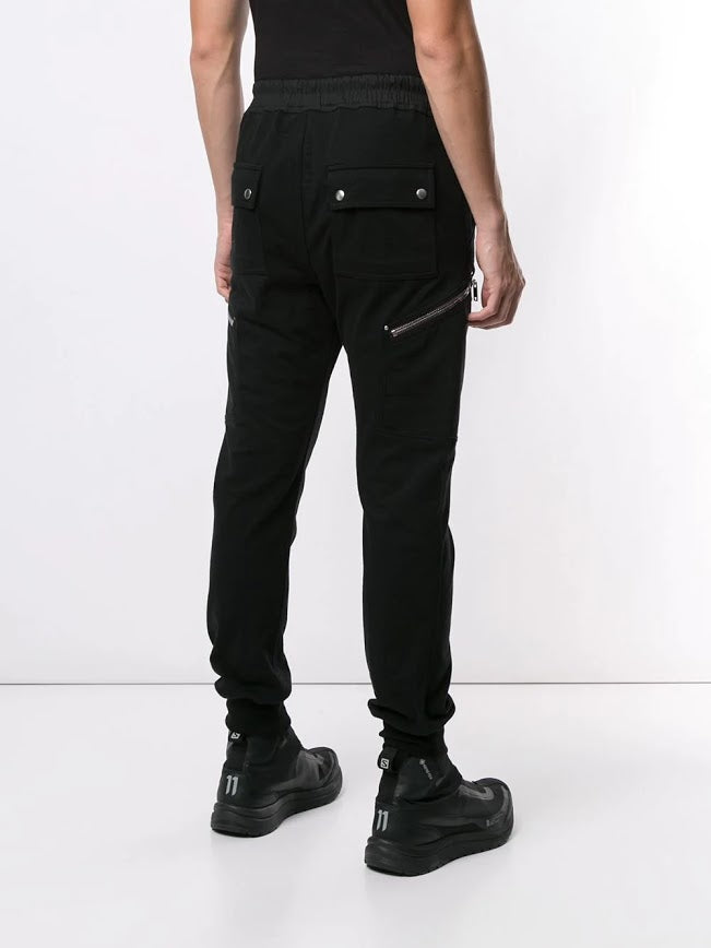 RICK OWENS MEN CARGO JOG PANTS
