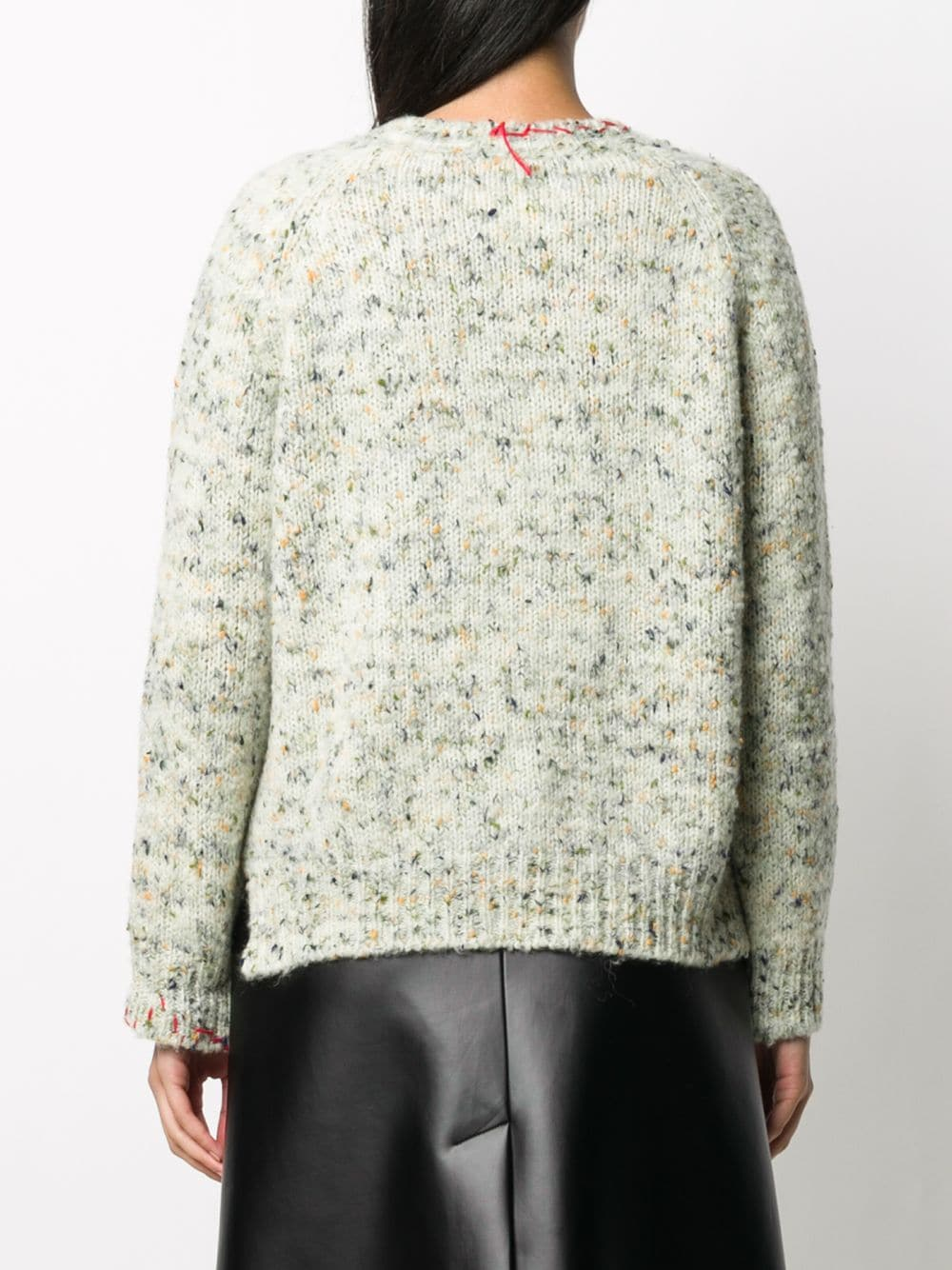 MAISON MARGIELA WOMEN UNTREATED WOOL SWEATER