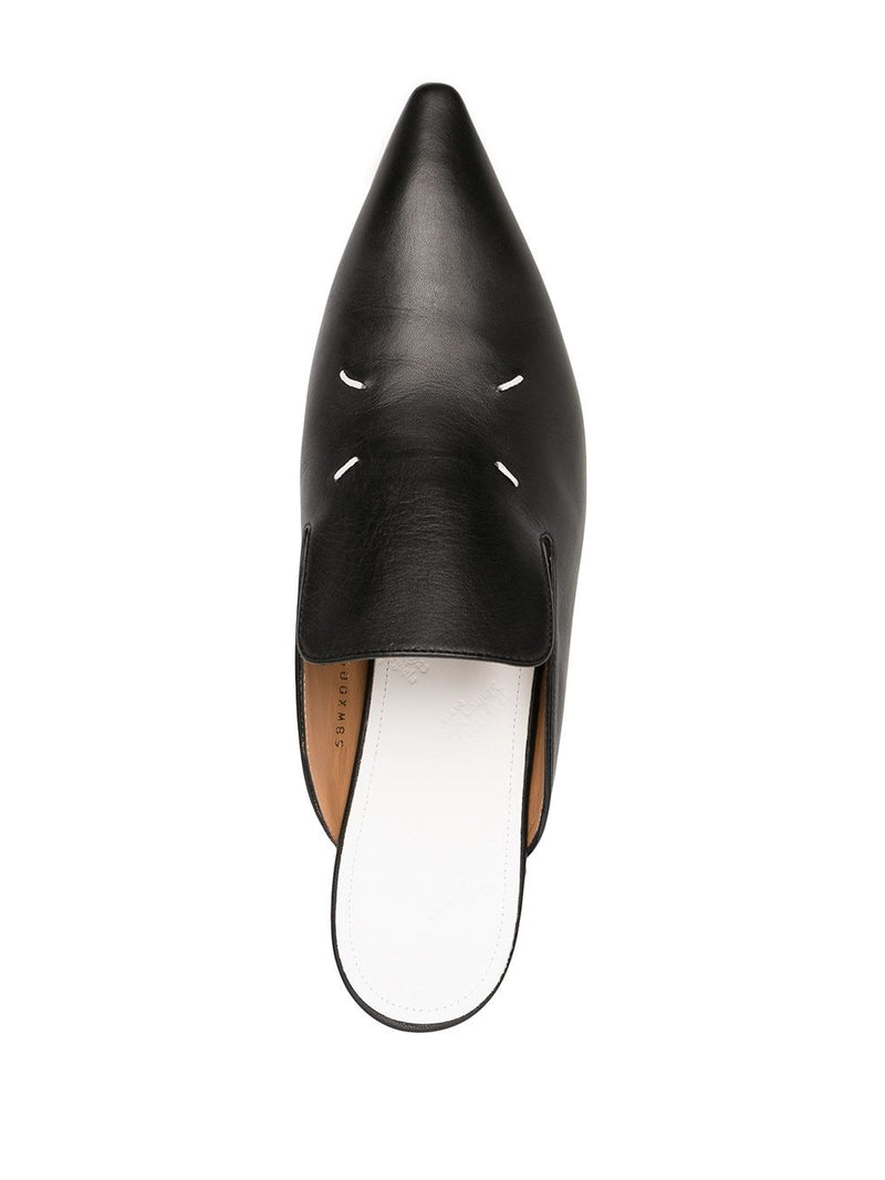 MAISON MARGIELA WOMEN 4 STITCHES POINTY TOE SLIPPERS