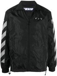 OFF-WHITE MEN DIAG NYLON TRACK JACKET