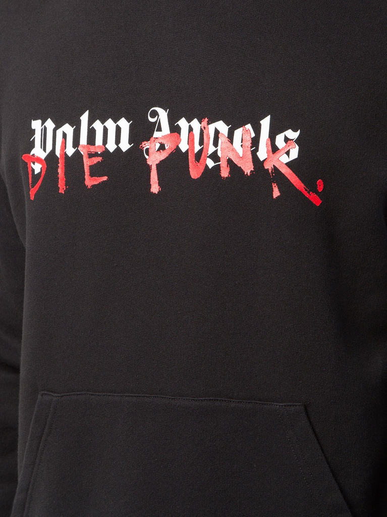PALM ANGELS MEN PLAYBOI CARTI EDITION DIE PUNK HOODY
