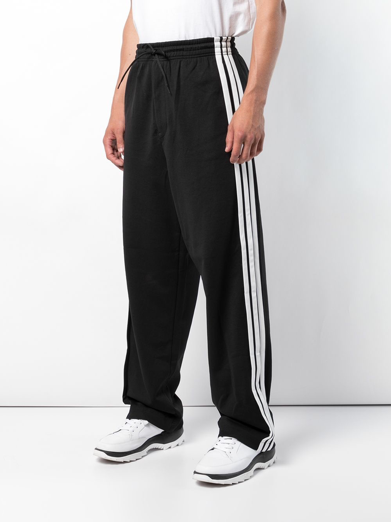 Y-3 MEN 3 STRIPE WIDE PANTS PANTS