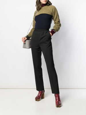 MAISON MARGIELA WOMEN COLOR BLOCK TURTLENECK