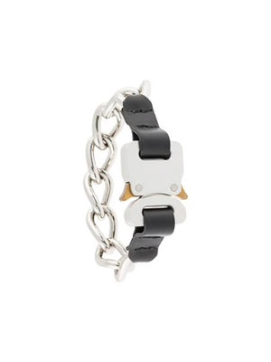 1017 ALYX 9SM CHAIN BRACELET WITH LEATHER