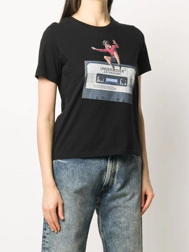 UNDERCOVER WOMEN CASSETTE TAPE T-SHIRT