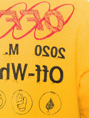 OFF WHITE MEN INDUSTRIAL Y013 INCOMP CREWNECK