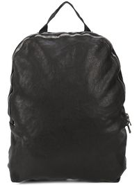GUIDI SOFT HORSE LEATHER 2 ZIPPER BACKPACK