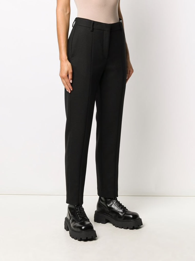 MM6 WOMEN TROUSERS WITH ZIPPER DETAIL