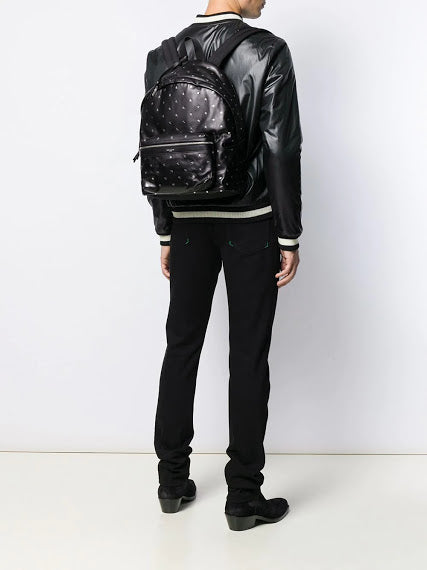 SAINT LAURENT STAR LEATHER CITY BACKPACK
