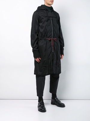 ZIGGY CHEN MEN HOODED LIGHT PARKA