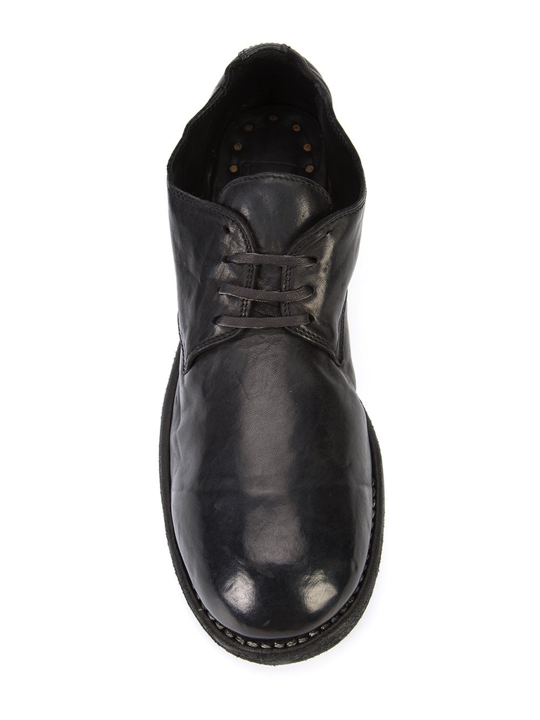 GUIDI WOMEN 792 CLASSIC SOFT HORSE LEATHER DERBY