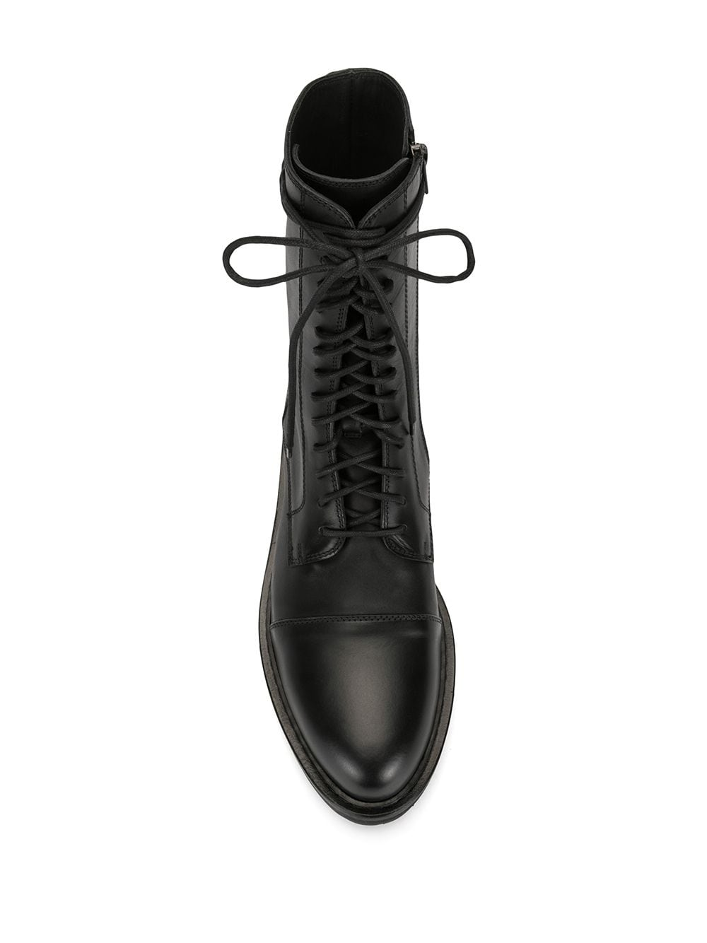 ANN DEMEULEMEESTER MEN LACE UP COMBAT BOOTS