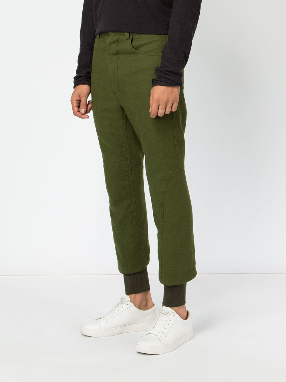 HAIDER ACKERMANN MEN BINDING DETAIL TROUSER 184-3410-187-048