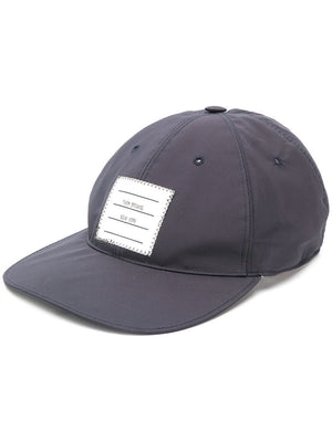 THOM BROWNE MEN BASEBALL CAP W/ OUTER LABEL IN MILITARY RIPSTOP