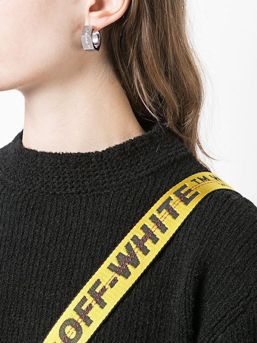 OFF-WHITE WOMEN HEXNUT EARRINGS