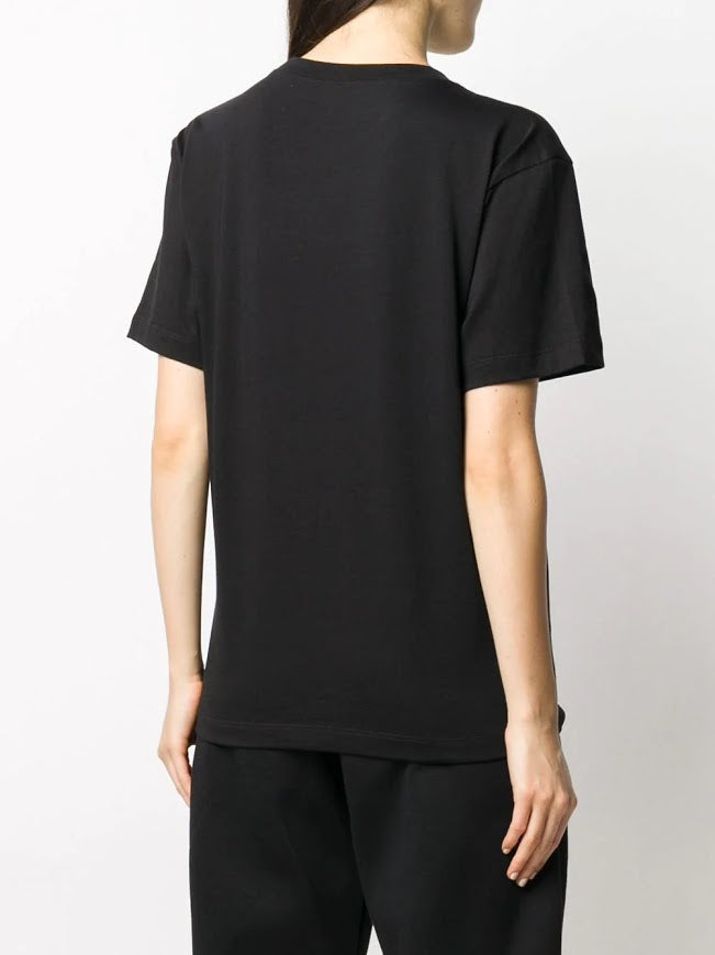 T BY ALEXANDER WANG FOUNDATION JERSEY SS TEE W/PUFF PAINT LOGO