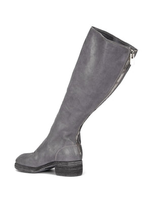 GUIDI WOMEN 7910Z SOFT HORSE LEATHER KNEE HIGH BACK ZIP BOOT