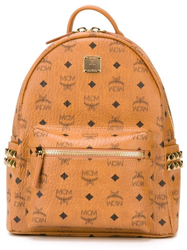 MCM SMALL STARK BACKPACK SIDE STUD