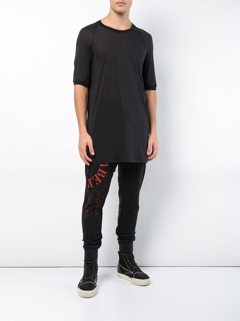 11 BY BORIS BIDJAN SABERI MEN T-SHIRT TS4B F-1115