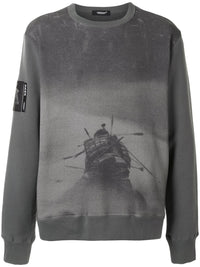 UNDERCOVER MEN THRONE OF BLOOD PULLOVER