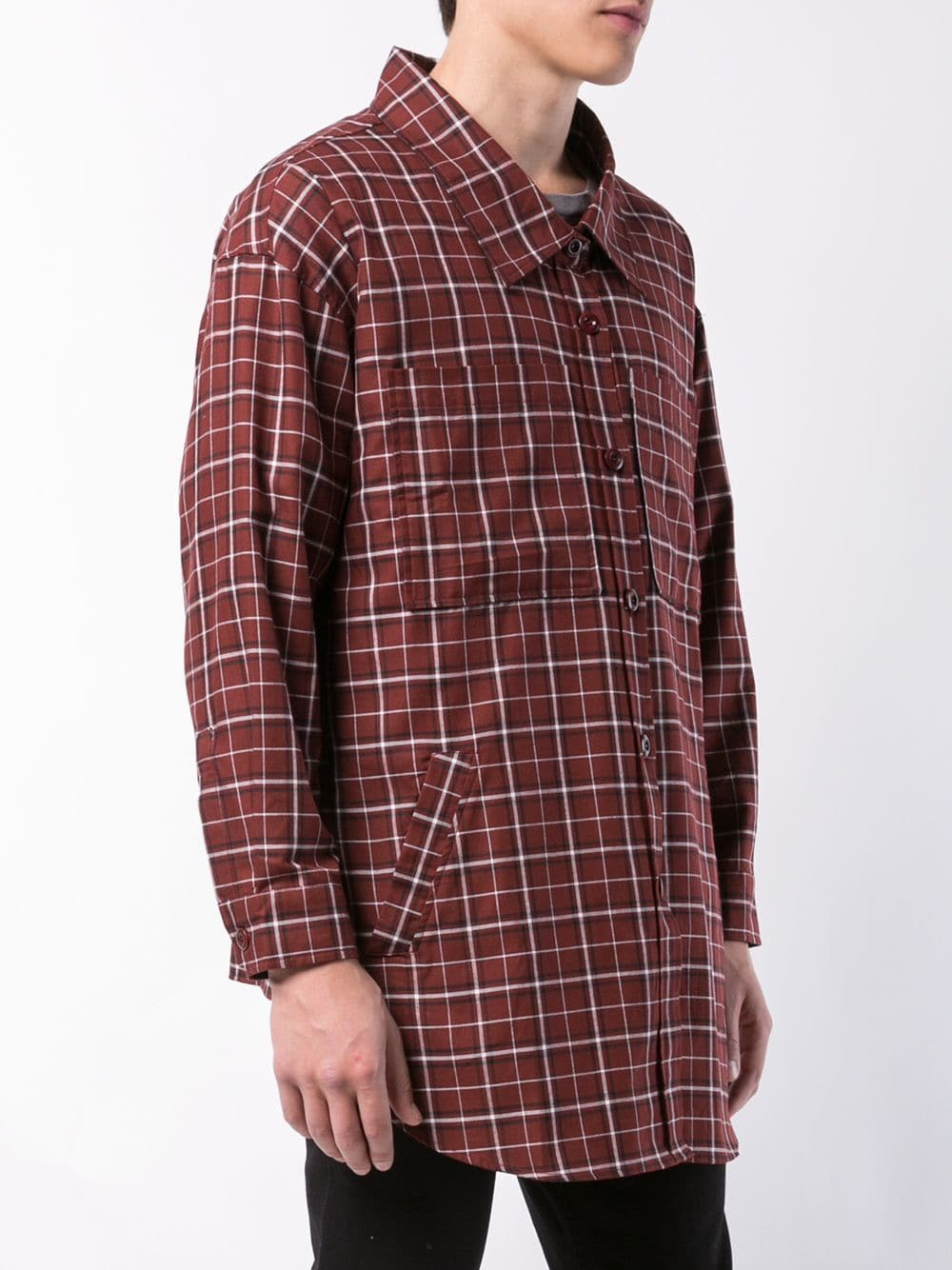 FAITH CONNEXION UNISEX CHECK OVER SHIRT X1801T00155 635