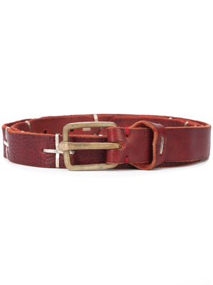 "MA+ ""+"" SPOTTED Q BUCKLE MED BELT"