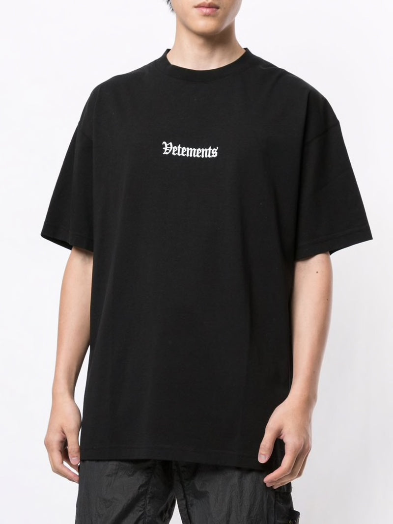 VETEMENTS UNISEX RAMSTEIN GERMANY T-SHIRT