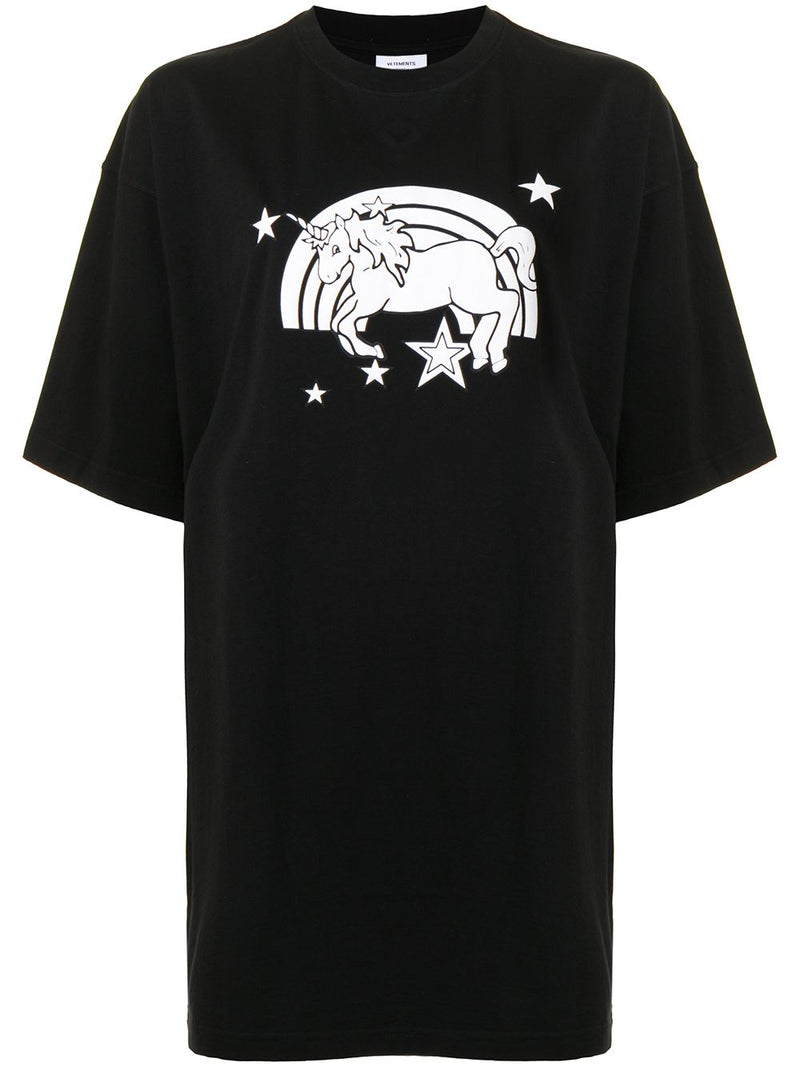 VETEMENTS UNISEX UNICORN T-SHIRT
