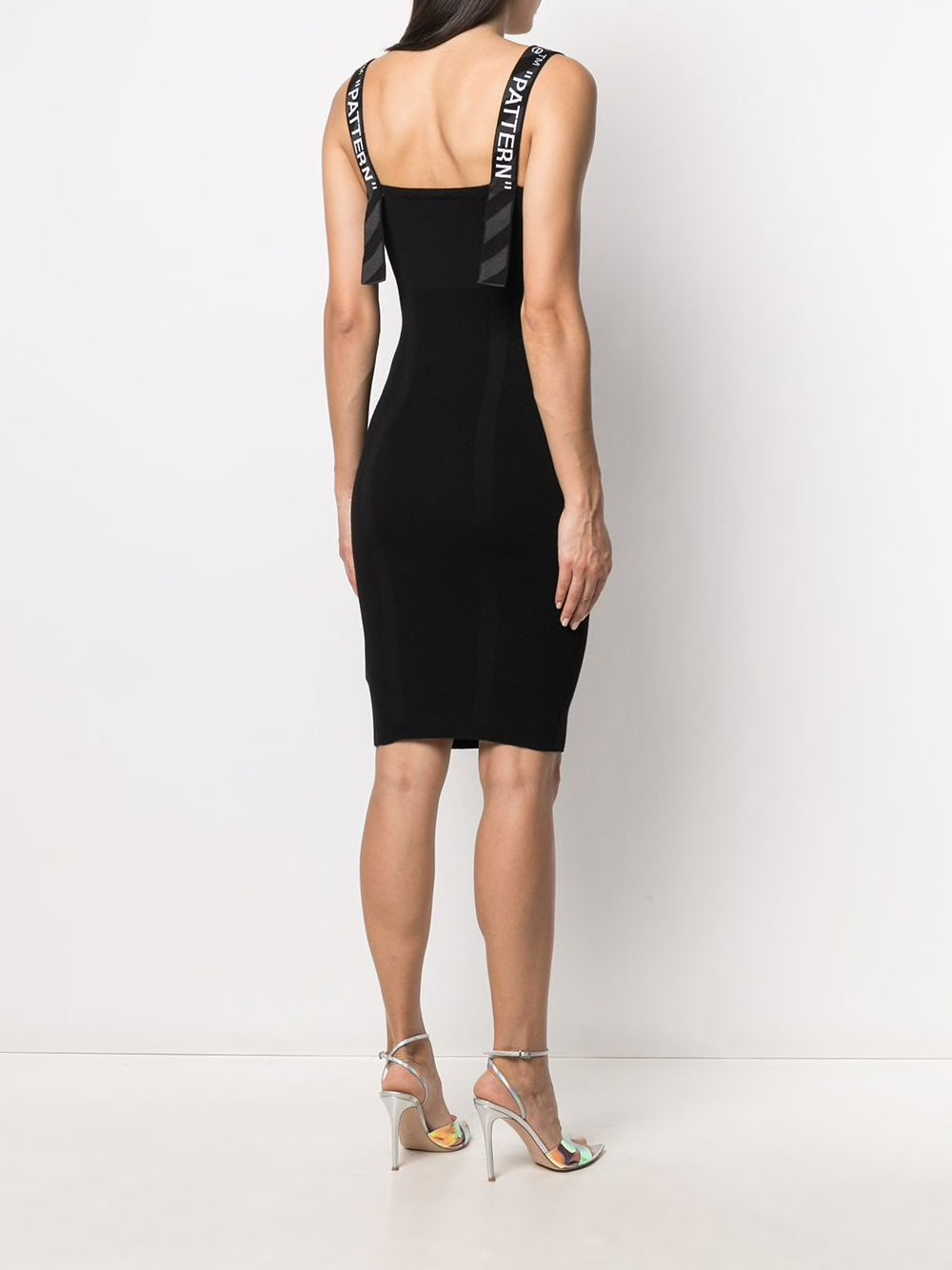 OFF-WHITE WOMEN BOLD SLEEVELESS DRESS