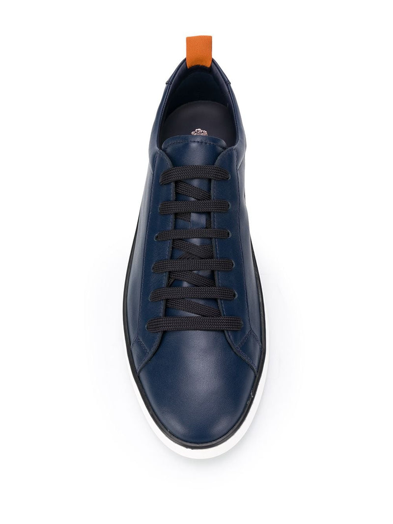 TOD'S MEN SNEAKERS IN LEATHER