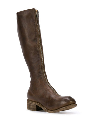 GUIDI WOMEN PL3 FRONT ZIP TALL BOOT CV09T