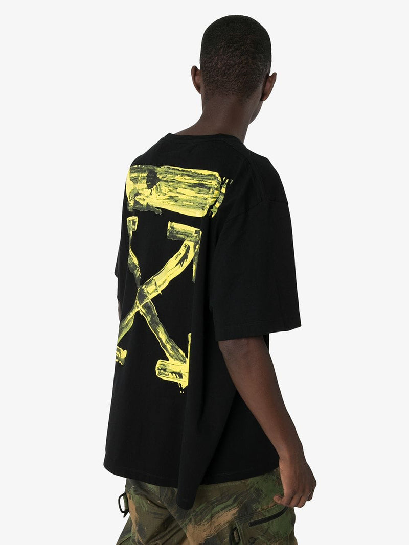 OFF WHITE MEN ACRYLIC ARROWS S/S OVER TEE
