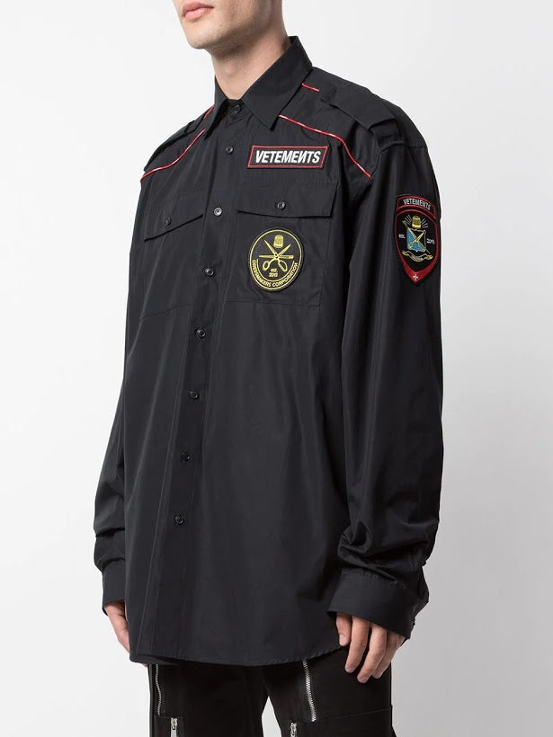 VETEMENTS MENS UNIFORM SHIRT