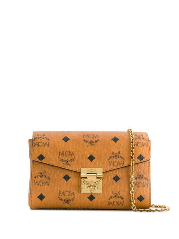 MCM SMALL MILLIE VISETOS CROSSBODY BAG