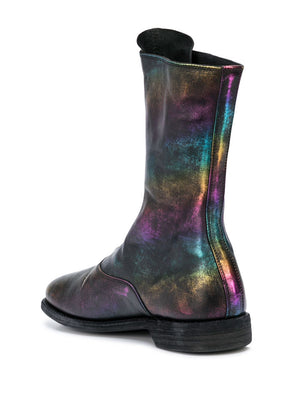 GUIDI WOMEN 310 RAINBOW FRONT ZIP BOOTS