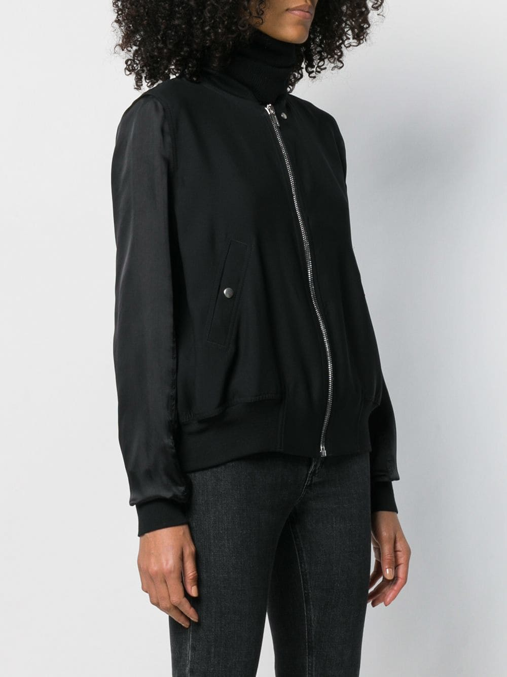 RICK OWENS WOMEN FLIGHT BOMBER JACKET