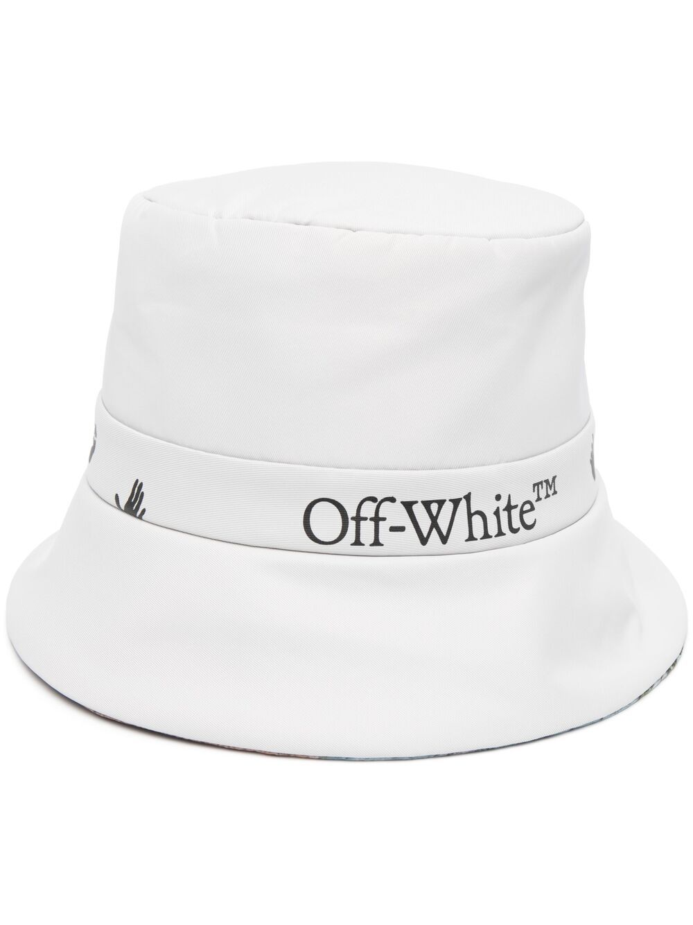 OFF-WHITE LOGO CDC RAIN CAP