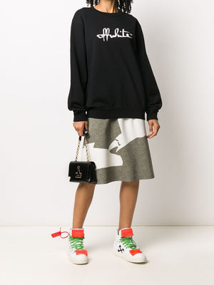 OFF-WHITE WOMEN SCRIPT 21 REGULAR CREWNECK