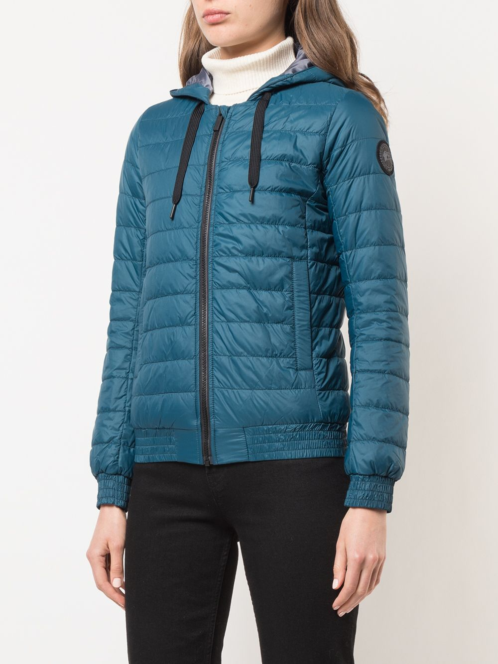 CANADA GOOSE WOMEN BLACK LABEL RICHMOND HOODY 2207LB 466