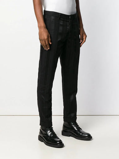 ANN DEMEULEMEESTER MEN STRIPED PANTS